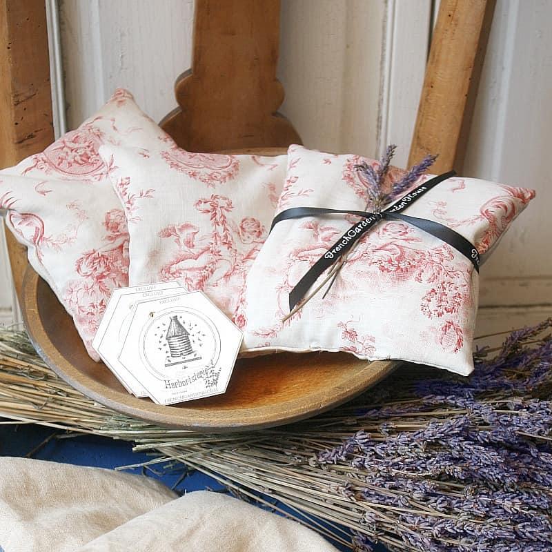 Antique French Toile Lavender Sachet