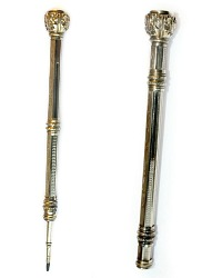 Antique Gold Filled Chatelaine Pencil