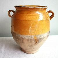 Antique Early French Confit Pot