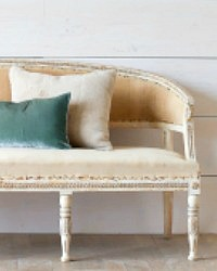 Eloquence One of a Kind Antique Gustavian Settee