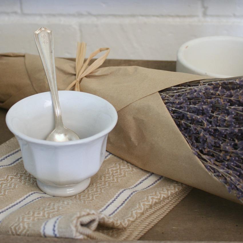 Antique Paneled Ironstone Tea Bowl