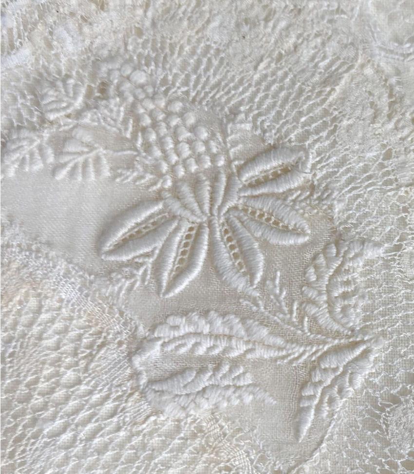 Antique French Normandy Lace Boudoir Pillow