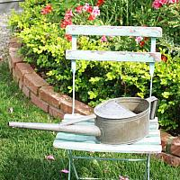 Antique Country Gardener's  Watering Can