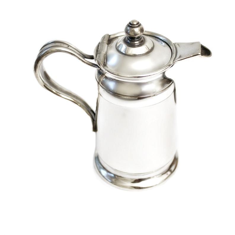 Vintage 1930's Hotel Silver Single Serve Coffee Pot
