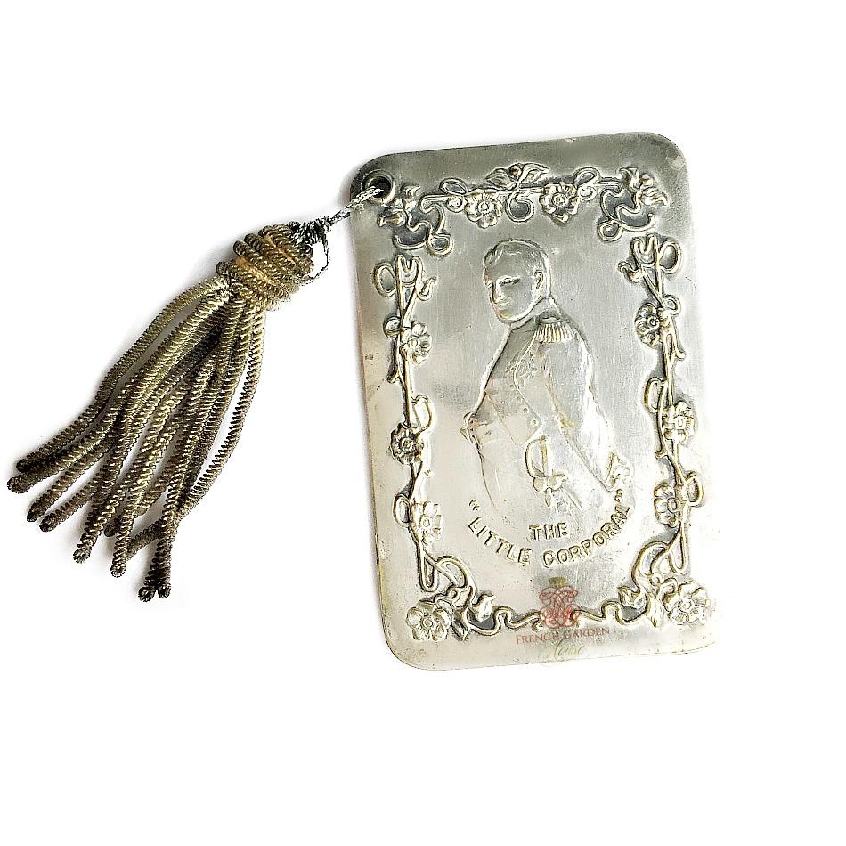 Antique Silver Aide de Memoir Carnet de Bal Napoleon