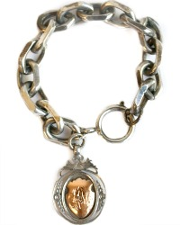 Sterling Watch Fob Bracelet