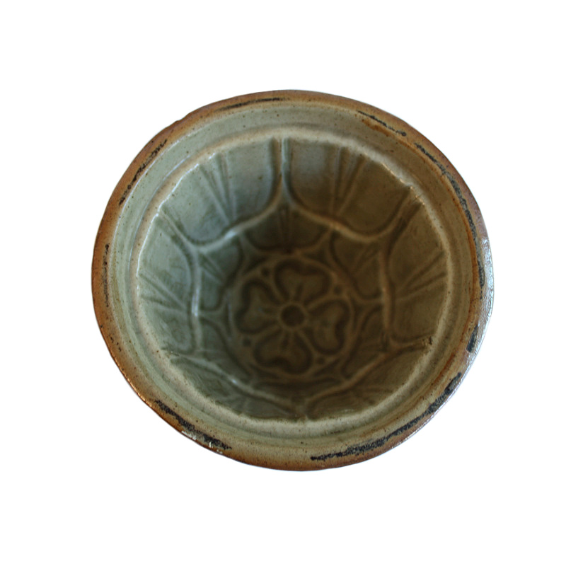 Antique Victorian Pottery Jelly Mold