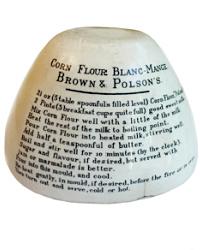 Antique English Ironstone Blanc-Mange Mold
