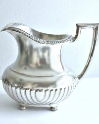 1930's Silver Plate Water Pitcher