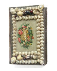Antique Shell Art Book Box A Gift
