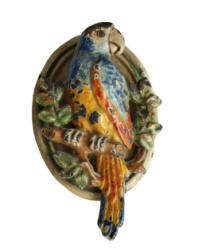 Antique Cast Iron Parrot Door Knocker