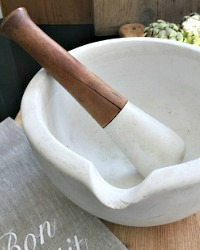 Antique Huge Pharmacy Mortar and Pestle