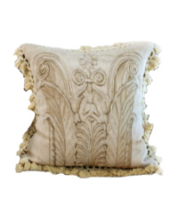 Antique French Aubusson Pillow Tapestry Cushion