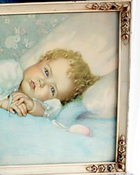 Vintage Original Print Annie Benson Muller Heaven's Gift