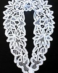 Antique 19th Century Belgian Bobbin Lace Collar
