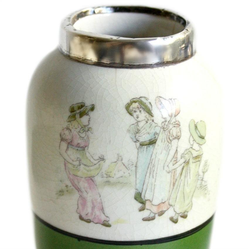 Antique English Kate Greenaway Vase