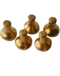 Art Deco 24 kt. Gold Salt and Pepper Shakers