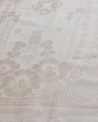 Antique Art Nouveau Floral Damask Tea Towel