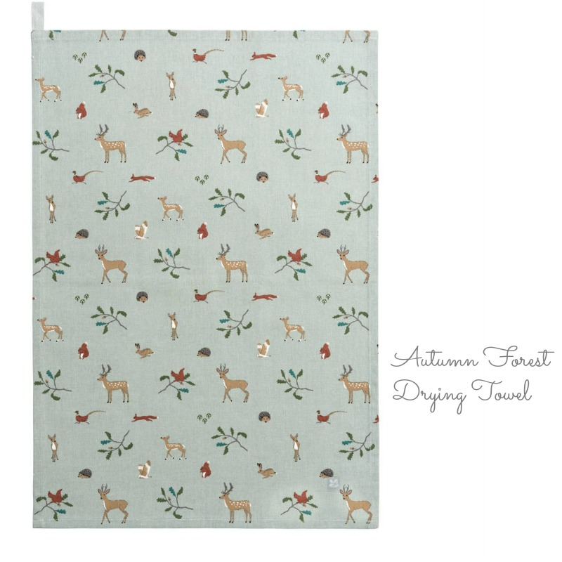 Autumn Forest Drying Towel