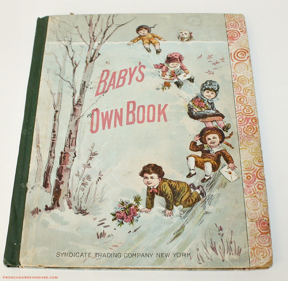 1889 Baby's Own Illustrated Children's Story Book