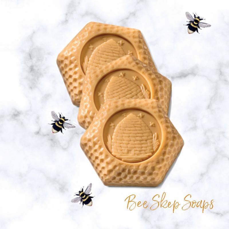 Bee Skep Soap Set