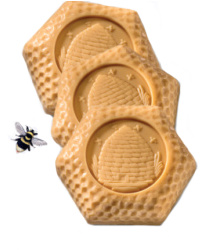 Bee Skep Soap Set