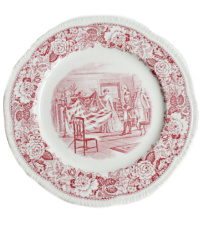 Historical Red & White Transfer Plate Liberty