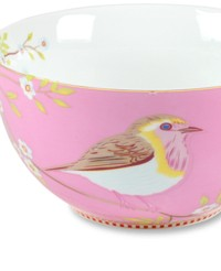 Love Bird Pink Bowl Set of 4
