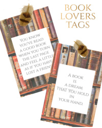 Book Lovers Tags