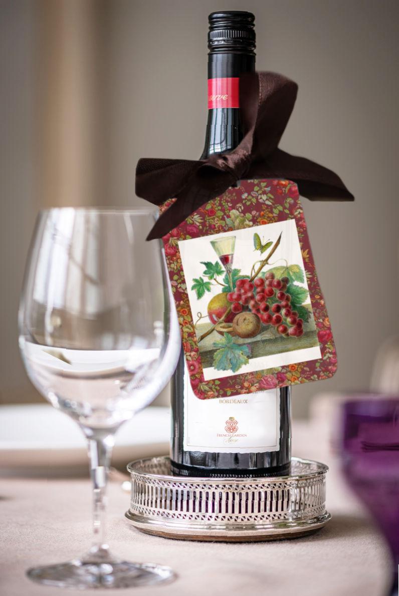 Bordeaux Wine Tags