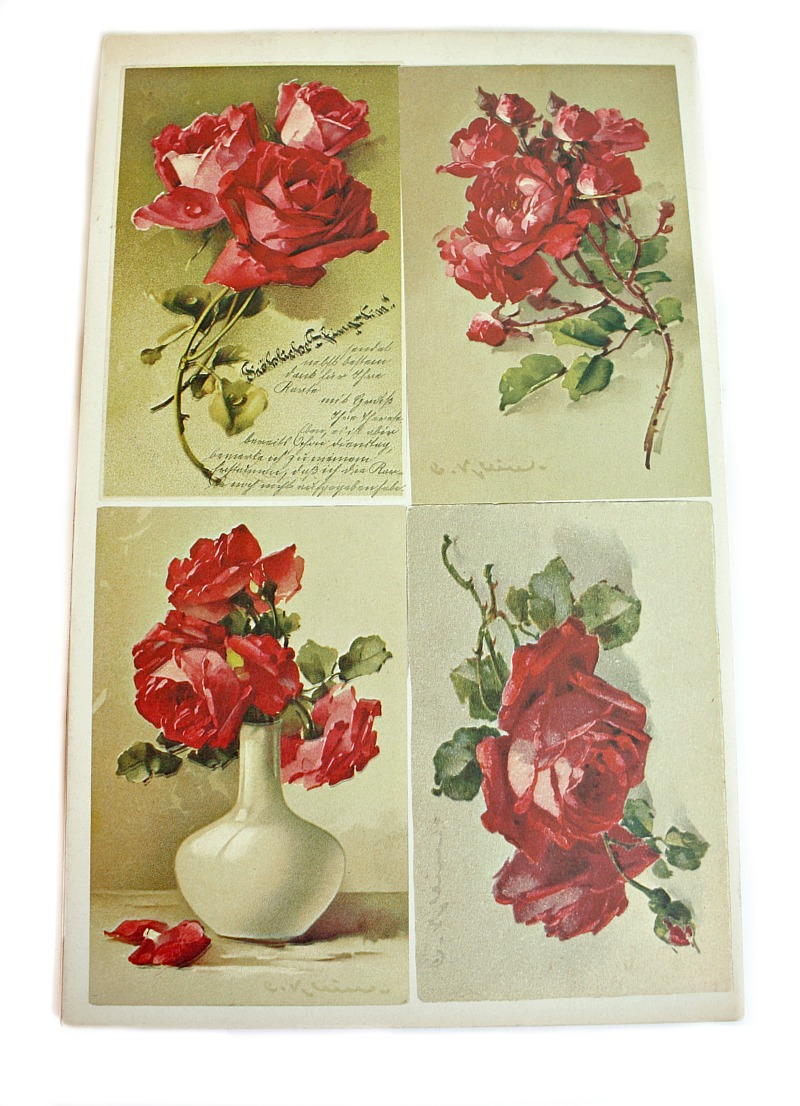 Vintage Catherine Klein Floral Roses How to Paint Book