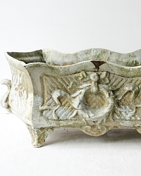 Antique French Rococo Revival Cast Iron Jardiniere
