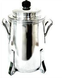 Art Deco Silver Plated Heavy Ice Bucket