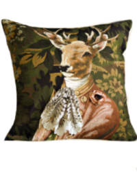 Earl of Woodshollow Stag Pillow Cover