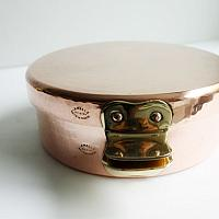 Vintage French Copper Pommes Anna Pan