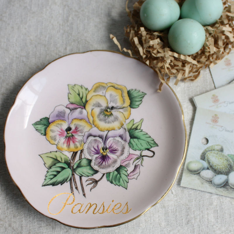 Blue Robin's Egg Soaps & Luxe Antique Dish