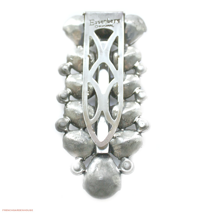 Fabulous Opulent Large Eisenberg Dress Clip