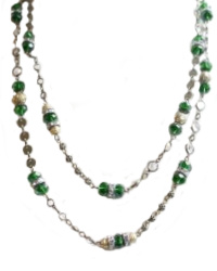Emerald Green Layering Necklace