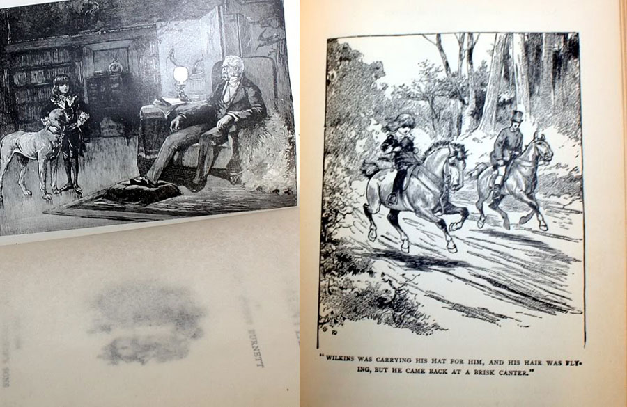 Antique Little Lord Fauntleroy Book Illustrated