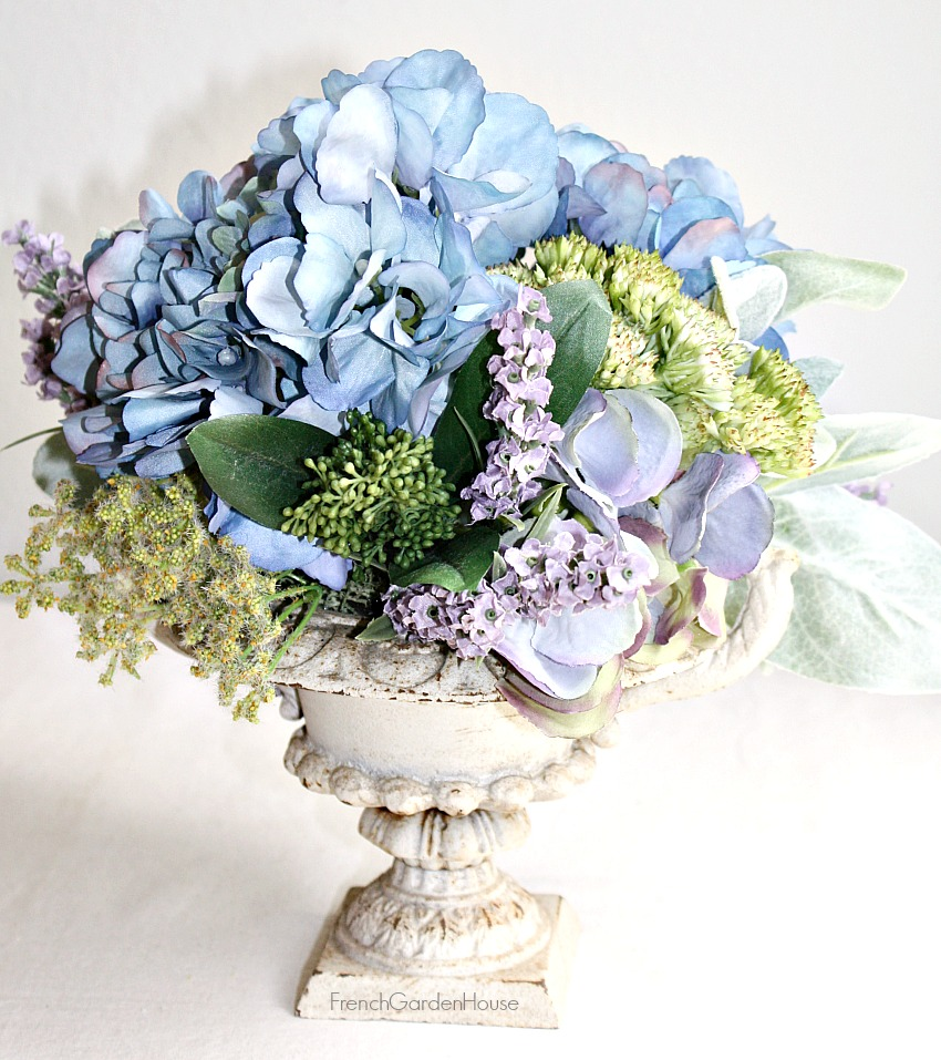French Country Chateau Floral Arrangement