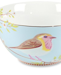 Love Bird Blue Bowl Set of 4