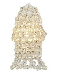 Paris Clear Beaded Chandelier Bulb Cover