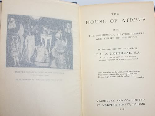 the house of atreus in greek and roman mythologies Greek and egyptian mythologies by bonnefoy,  kinship structures in greek heroic dynasties: the house of atreus and the house of labdacus.