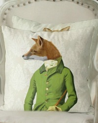 Woodland Dandy Pillow Cover