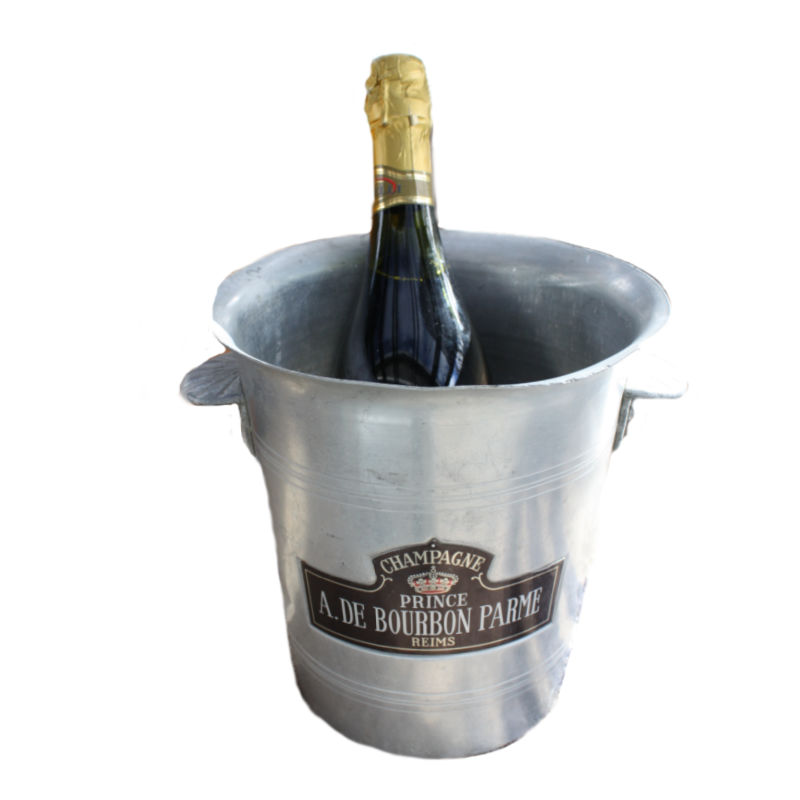 Vintage French Champagne Bucket Prince Parme