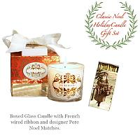 Classic Noel Holiday Candle