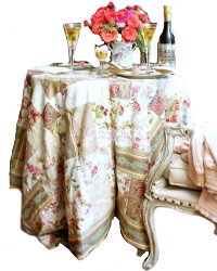 French Floral Patchwork Cover