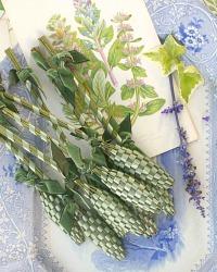 Hand Woven Provence Lavender Fuseau de Lavande Meadow
