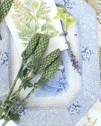Hand Woven Provence Lavender Fuseau de Lavande Moss
