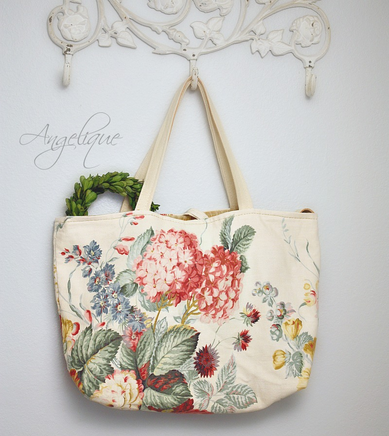 Angelique Hydrangea One of a Kind Tote Bag